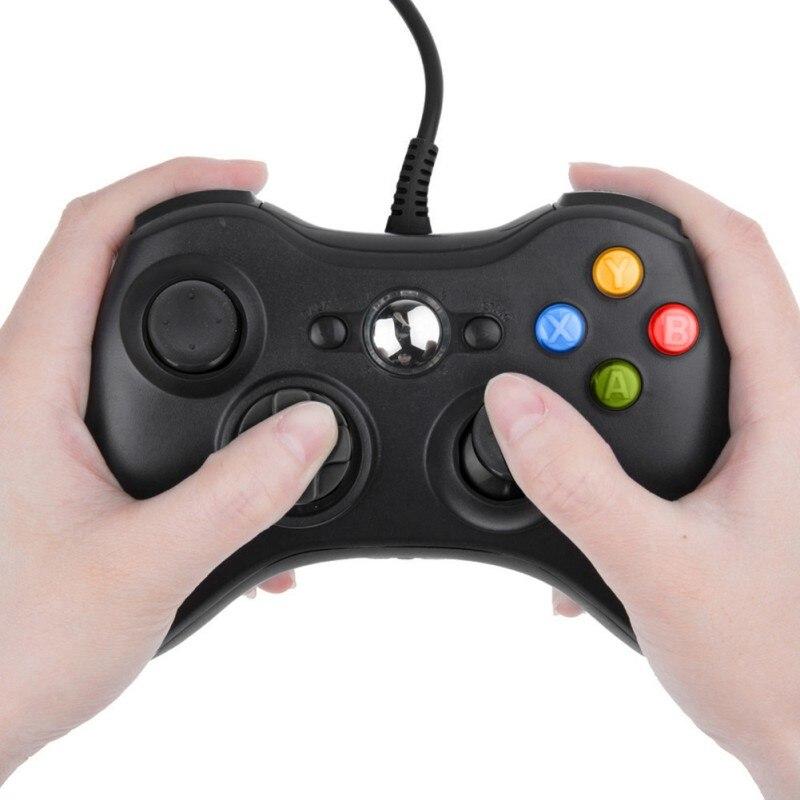 Mando Joypad con cable USB, negro, Pubg, móvil, Ps4, controlador, Joystick para Microsoft oficial, PC para Windows 7 / 8 / 10