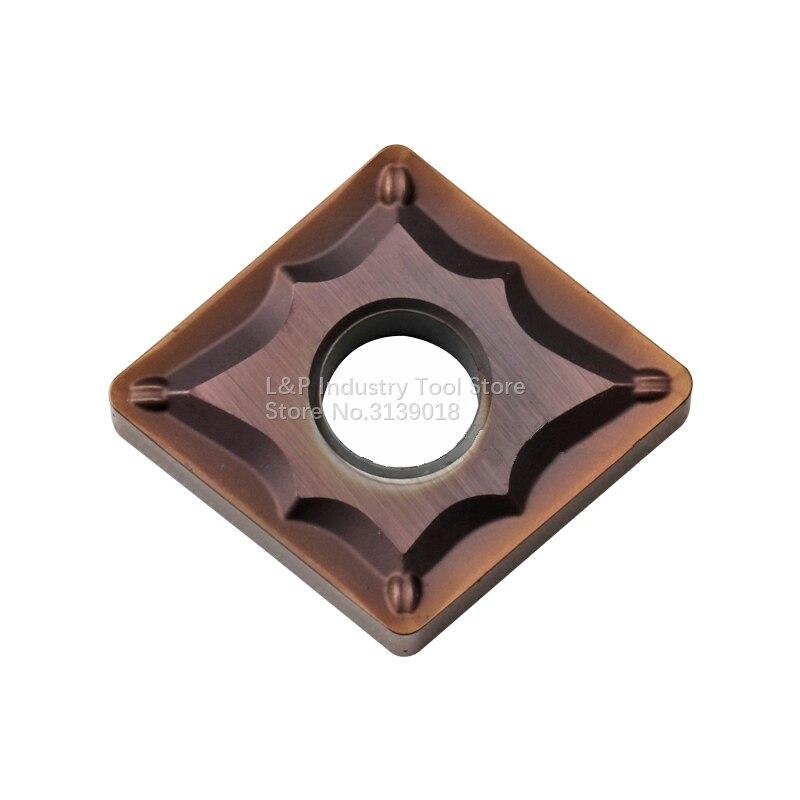 فحص الكهربائية CNMG120404N-SU AC520U CNMG431ESU كربيد إدراج CNMG 120404 R0.4 تحول لوحات لالفولاذ المقاوم للصدأ آلة خرط الفولاذ