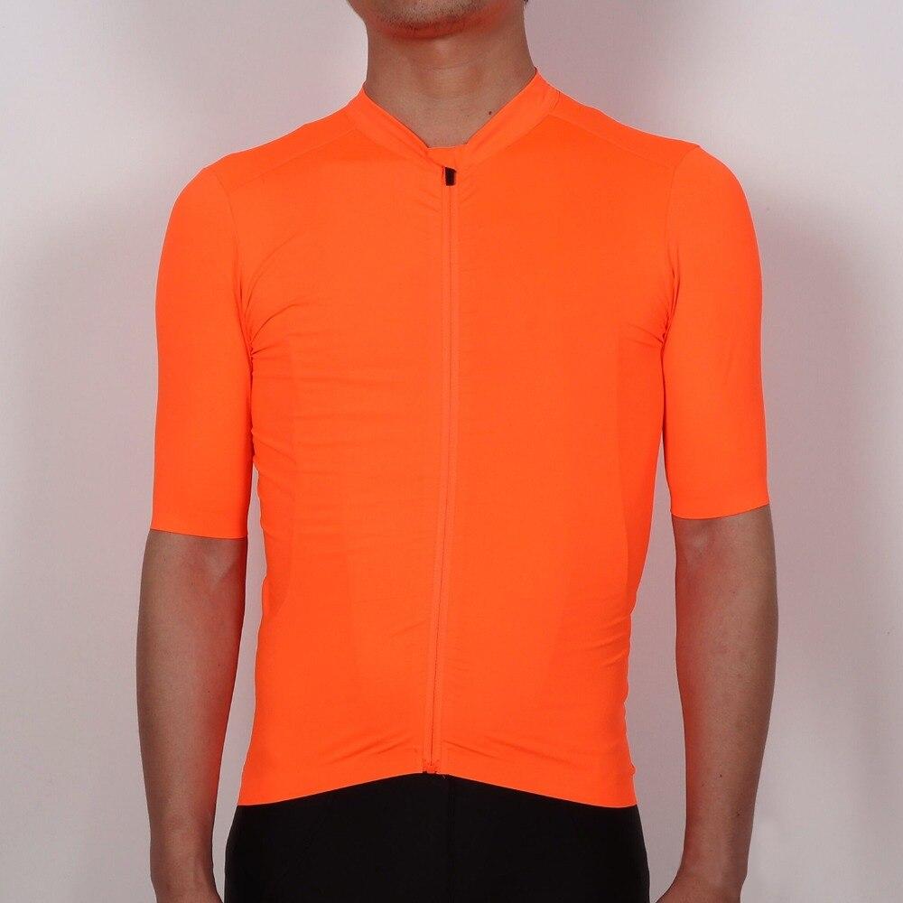 SPEXCEL 2018 pro équipe aero Orange cyclisme Maillot rétro cyclisme vêtements de vélo Maillot Ropa Ciclismo vélo manches courtes haut