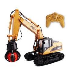 ¡Oferta! juguete eléctrico RC para niños, atrapa una máquina de bolas, camión 571 2,4G, 16CH, modelo receptor de bolas, control remoto inalámbrico, vehículo de ingeniería