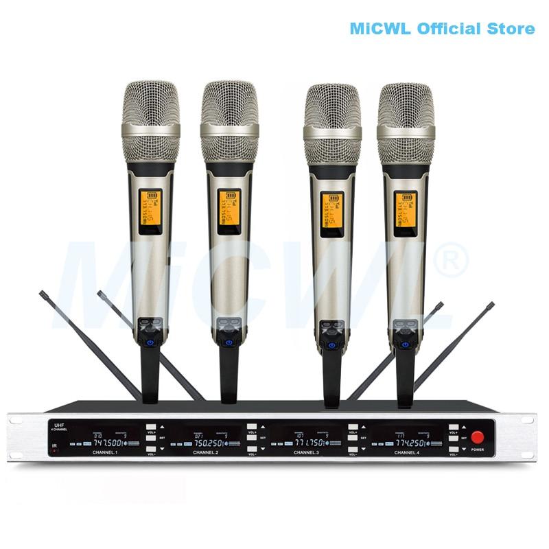 ميكروفون كاريوكي لاسلكي محمول باليد ، Pro SKM9000 EW 335 G4 UHF
