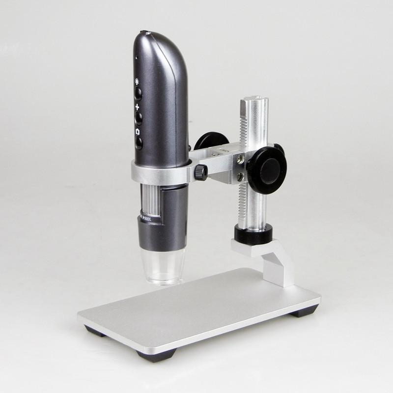 WIFI мобильный телефон микроскоп 200X 500X 800X 1000X цифровой USB IOS Android фото видео HD wifi Лупа камера Al-alloy Stent
