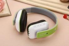 JKR-202B filaire stéréo musique bandeau casque Portable pliable casque Support TF FM Radio appel pour Smartphones PC # B4