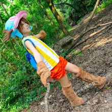Halloween une pièce Tony Tony Chopper Cosplay déguisement Anime une pièce Chopper Cosplay ensemble complet hauts + gants + pantalons + couvre-pieds