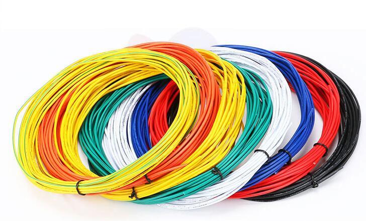 Envío Gratis 100M UL1007 de soldadura de alambre de cable electrónico 26AWG...