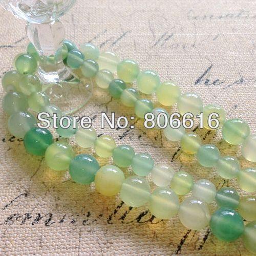 (Por favor, elija el tamaño 8-10mm) Hebras de cuentas de cuarzo Natural accesorios de joyería de piedra semipreciosa