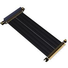 Pci-e 16x para 16x riser extensor pcie cabo de mineração gen3.0 para phanteks enthoo evolv shift PH-ES217E/xe PK-217E/xe itx placa-mãe