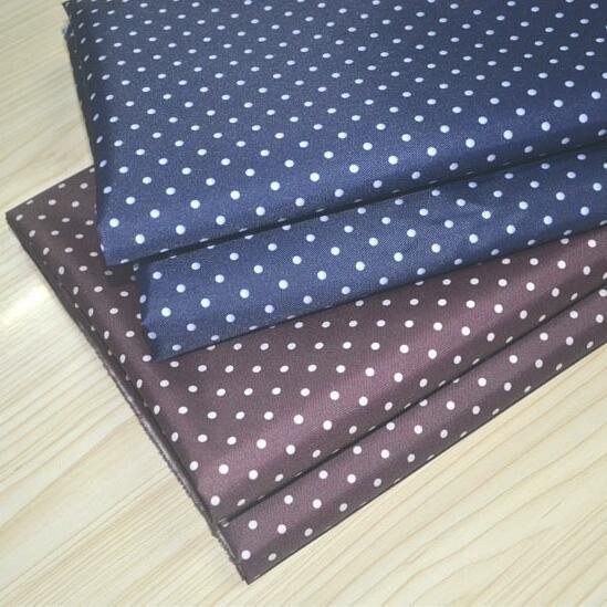 0,2 MM 300D bala de seda de la tela de Oxford engrosada punto de impresión bolso de tela de poliéster textil hogar parche tela diy C591