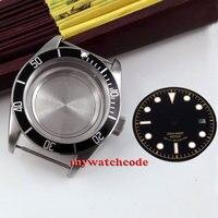 41mm sapphire glass salf winding Watch Case fit ETA 2824 2836 MOVEMENT C38