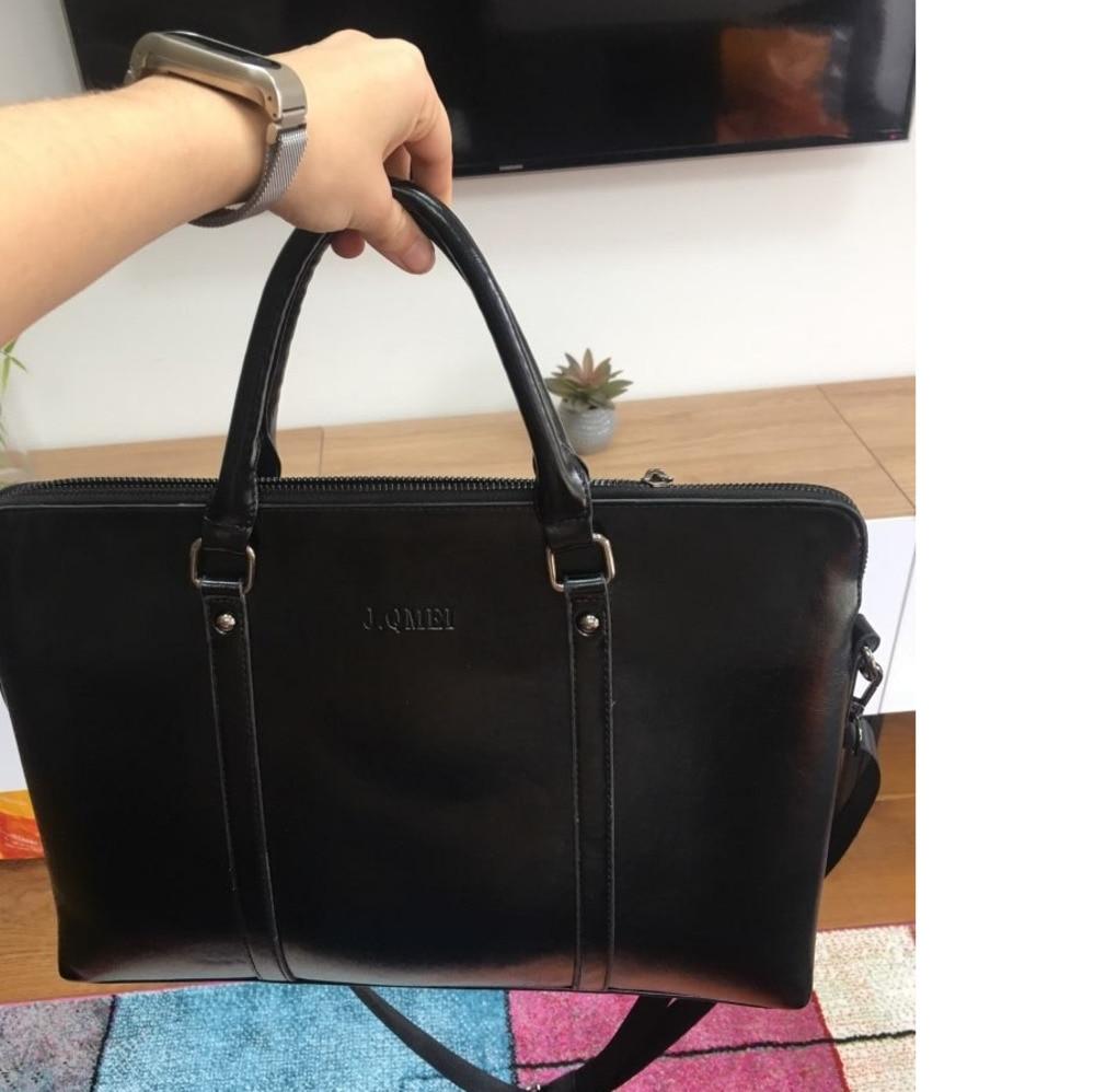 Женский портфель для ноутбука, Офисная сумка из кожи 14, 15,6 дюйма, 2019