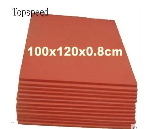 آلة ضغط حراري سيليكون ، سجادة ، 100 × 120 × 1 سنتيمتر ، مقاومة درجات الحرارة العالية ، التسامي ، نقل الحرارة ، قطعة واحدة