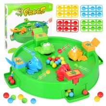 2019 drôle grenouille manger des haricots jeux de société jouets pour enfants interactif bureau Table jeu famille jeu jouets éducatifs enfant cadeaux