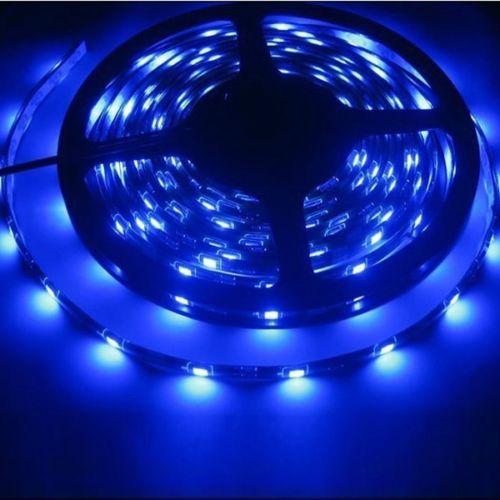 Nuevo 5 M 12 V 3A 5050 SMD LED azul brillante luz de tira Flexible impermeable IP65 150 LEDs clubes Decoración
