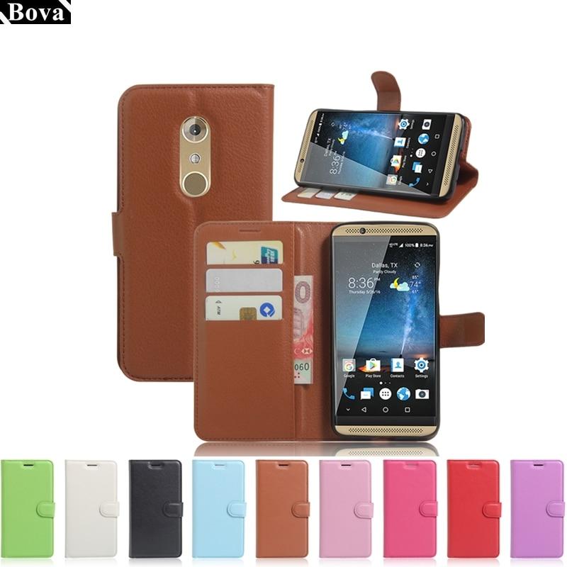 Für ZTE AXON 7 Fall Brieftasche Abdeckung Karte Halter Telefon Fällen für ZTE Axon 7 Pu Leder Telefon Fall Schutzhülle abdeckung
