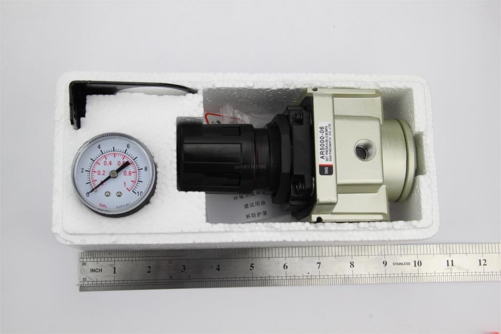 منظم ضغط الضغط المخفض صمام airtac نوع AR5000-06 3/4/4''bspt sns مكونات