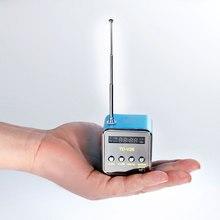 Mini récepteur Radio FM portatif de haut-parleur de Radio FM de TD-V26 avec la carte Micro de Support de haut-parleur stéréo daffichage à cristaux liquides