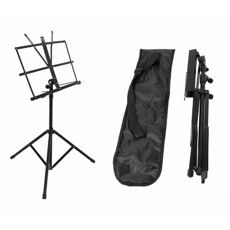 Foldable Sheet Music  Stand  Aluminum Alloy Tripod Stand Holder Lightweight  Height Adjustable with Carrying Bag enlarge