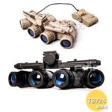 Accessoires DE casque tactique FMA GPNVG 18 lunettes DE Vision nocturne modèle factice NVG TB723 BK/DE