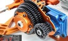 Kit de système de transmission GTB 3 vitesses avec couvercle dengrenage en plastique pour 15 HPI KM ROVAN Baja 5B 5T 5SC pièce de mise à niveau de voiture RC