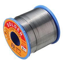 JINHU 450g 60/40 di Stagno piombo Solder Wire Rosin Core Saldatura 2% Flux, 0.5 Millimetri 1 Bobina