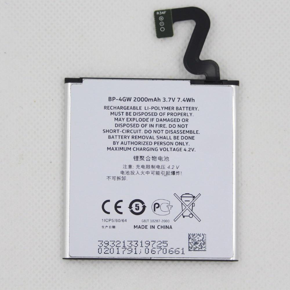 20 шт./лот 2000 мАч BP-4GW батарея мобильного телефона для Nokia Lumia 920 920T 2000mAh BP4GW BP 4GW Замена телефона литий-ионный аккумулятор