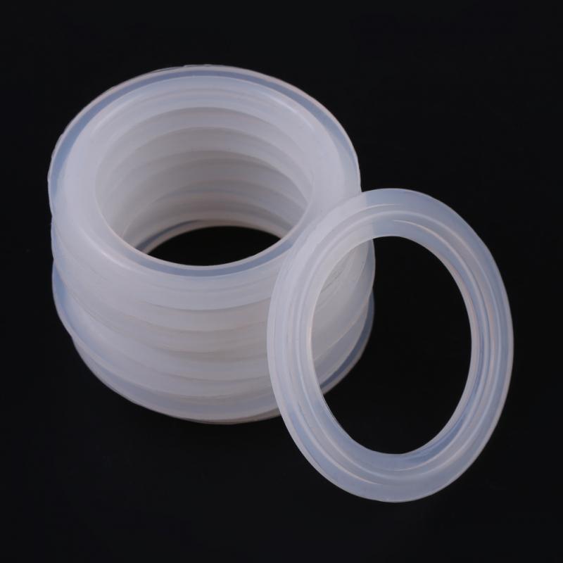 10 шт./компл. 1,5 дюйма резиновые уплотнительные кольца шайба силиконовая уплотнительная прокладка санитарный Зажим Кольцо Уплотнительные Прокладки Фитинги шайба прокладка