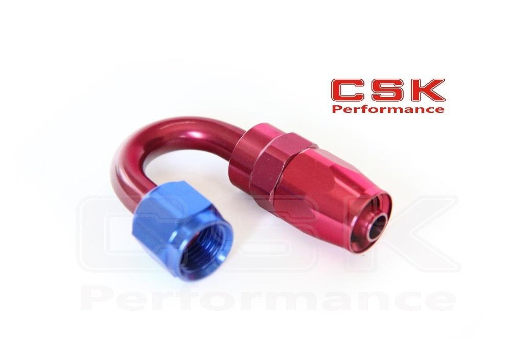 AN12 AN-12 12 AN 180 Degree Swivel Fitting Hose End Adaptor Aluminium oil hose fitting oil adaptor Reusable Swivel Hose end