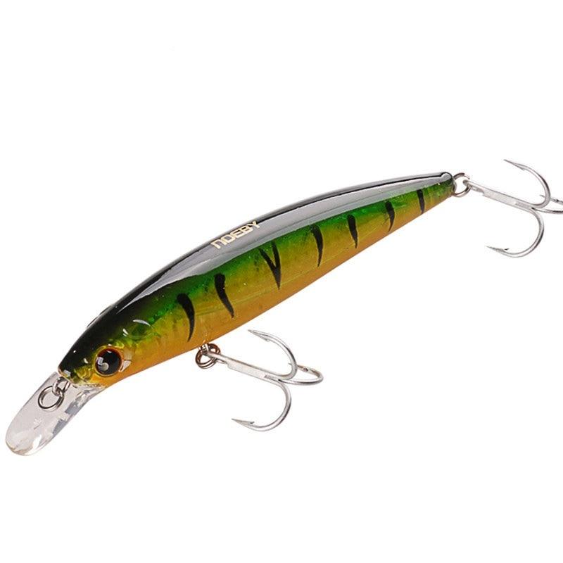NOEBY Long Casting 12cm 22g Minnow Fishing Lure 10cm 13.6g Wobblers Iscas Artificiail Bait Para Fishing Tackle Swimbait NBL9006