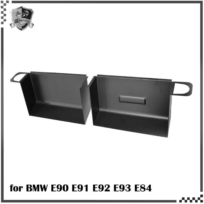 SD MOTOR para E90 E91 E92 E93 335i 330i cuchara de aire de aluminio negro rojo amarillo