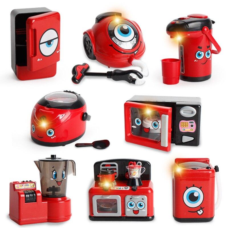 Batería eléctrica electrodoméstico, herramienta doméstica, juguetes, frigorífico, exprimidor, lavadora, modelo, el mejor regalo para niños
