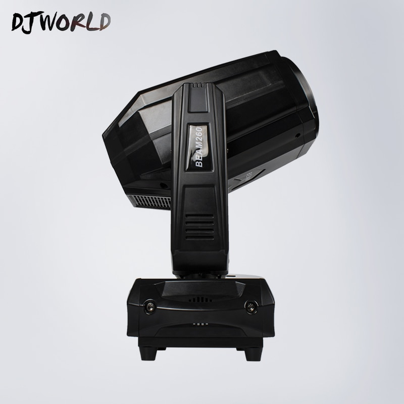 El vendedor de alta calidad brillante LEDBeam 260W cabeza móvil iluminación buena para DMX512 pista de baile decoración de la boda DJ Luz para