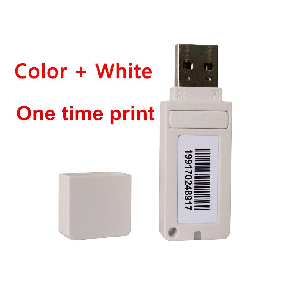 ترقية الاكريليك الأبيض مزق 9.0 البرمجيات مع مفتاح القفل دونغل لإبسون UV طابعة مسطحة النافثة للحبر DTF طابعة البرمجيات