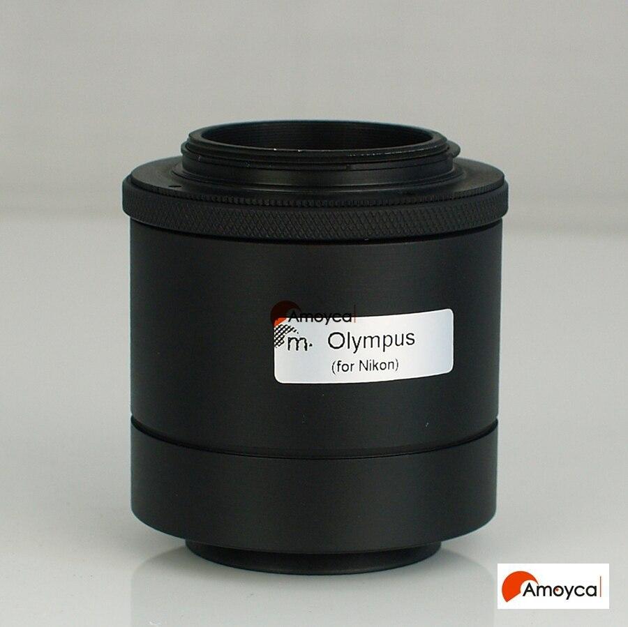 مهايئ كاميرا كانون EOS EF Port SLR / DSLR ، لميكروسكوب أوليمبوس BX41 BX51 MX 51 CX