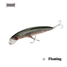 Leurres de pêche royaume flottant vairon appâts Wobblers 115mm 18.3g Jerkbait dur de haute qualité huit couleurs disponibles modèle 5226