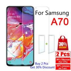 9H de Vidro Temperado Para Samsung Galaxy Protetor de Tela para Samsung UM 70 A70 Sm-a705f/ds A7050 Vidro de Segurança tremp Película Protetora