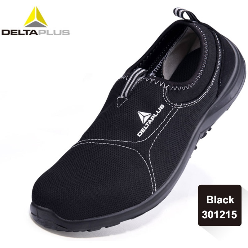 Deltaplus Safety Shoes Summer Breathable Labor Steel Toe Cap Lightweight Work Anti-smashing Protective Footwear