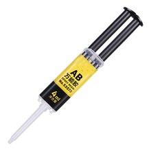 Colle AB imperméable 4ml   2 Minutes, traitement durable, fourniture à domicile, colle forte universelle, résine époxy Super liquide