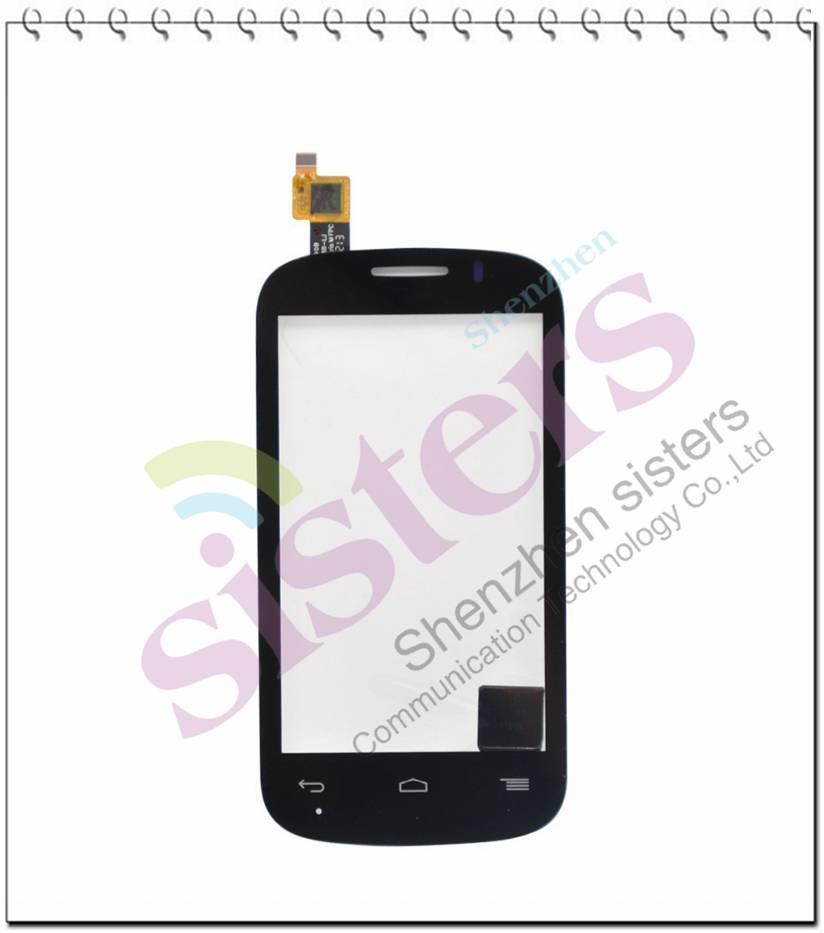 10 piezas negro/blanco digitalizador de pantalla táctil para Alcatel One Touch POP C3 Dual OT-4033E OT4033 4033A 4033D 4033X4033 envío gratis