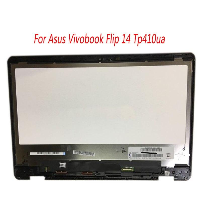 14 para ASUS VivoBook Flip 14 TP410UA TP410U TP410 lcd pantalla táctil lcd montaje