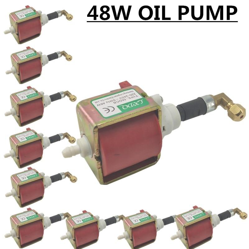 10 قطعة/55DCB 48W النفط مضخة 2000w 3000W الدخان آلة النفط مضخة AC110-220V المهنية dj معدات