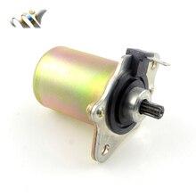 Электрический двигатель стартовый двигатель для Dio50 AF18 AF28 ZX 50cc AF34 2-тактный Скутер Honda DIO 50 Мотоцикл ATV Go-Cart запасные части