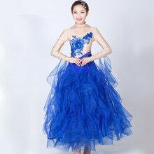 New Ballroom Dance Dresses Standard Stage Costume Performance Womens,Smooth Ballroom Dress,Modern Waltz Tango