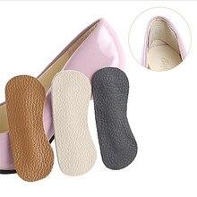 1 paio di scarpe da donna inserti fodera tacco alto da donna soletta in pelle di mucca adesivi morbidi cuscinetti cuscino scarpe accessori