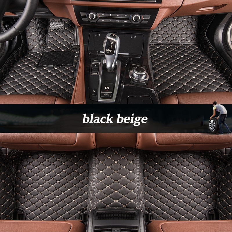 Custom car floor mats for Mercedes Benz all models E C ML GLK GLA GLE GL CLA CLS S R A B CLK SLK G GLS GLC vito viano enlarge