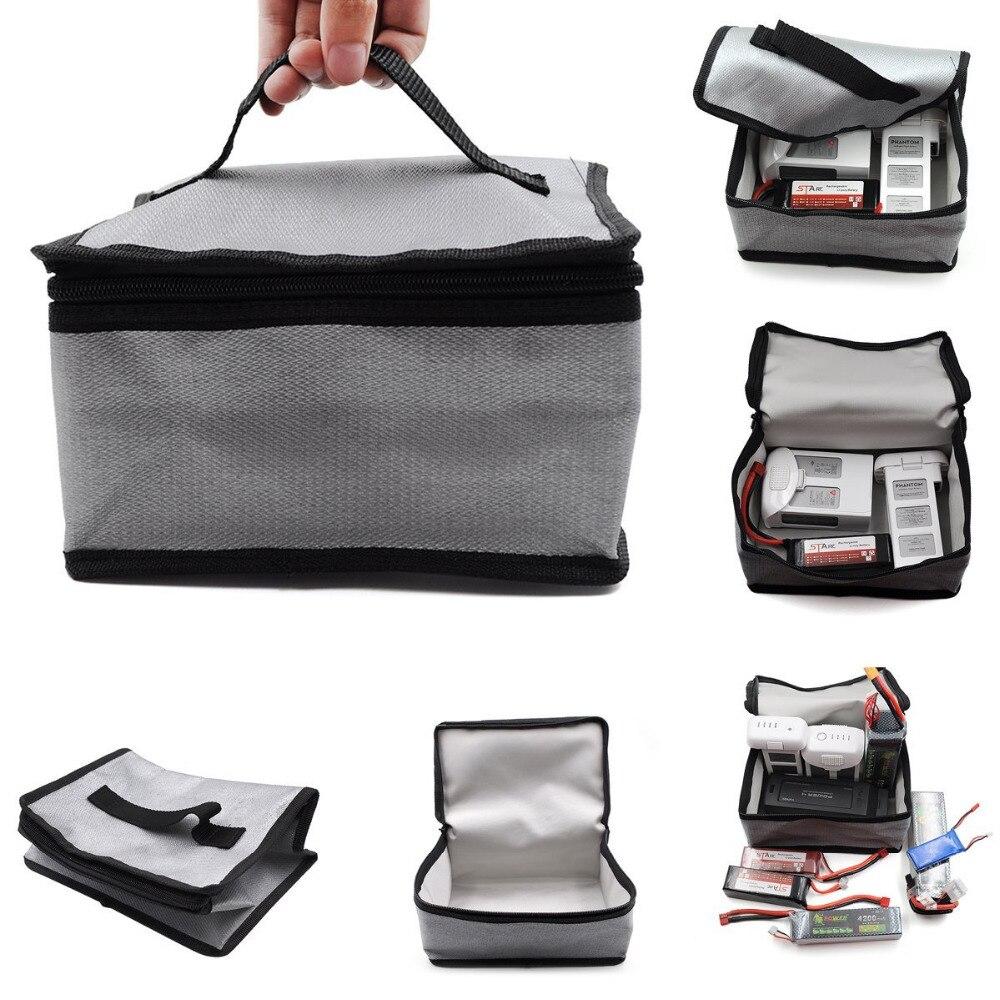 Bolsa de seguridad para batería LiPo incombustible, bolsa de seguridad para DJI Mavic Pro para Mavic 2 Pro / Zoom para DJI Phantom 3/4, bolsa de seguridad para batería