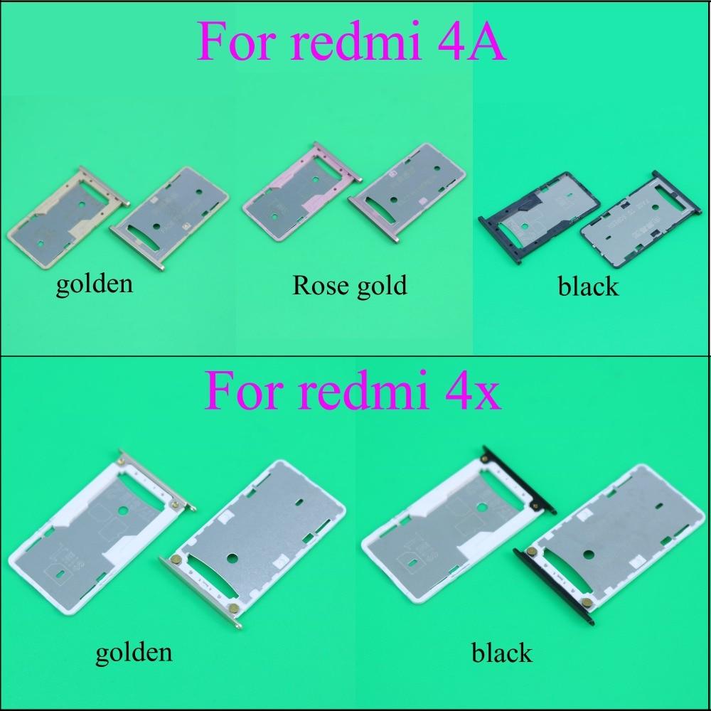 YuXi pour Xiaomi Redmi 4A 4X Mi Note SIM carte porte-plateau fente adaptateur prise de rechange