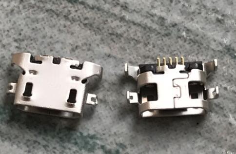 50pcs/lot  micro usb charging jack connector For Motorola Moto G5 XT1672 XT1676 xt1607 MOTO E3 XT1706