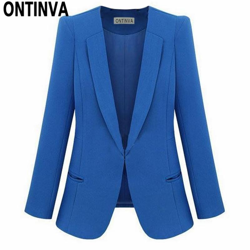 Женский желтый блейзер Feminino размера плюс 4XL, деловая куртка, женский белый блейзер Rosa, женский синий костюм, офисный женский 2020