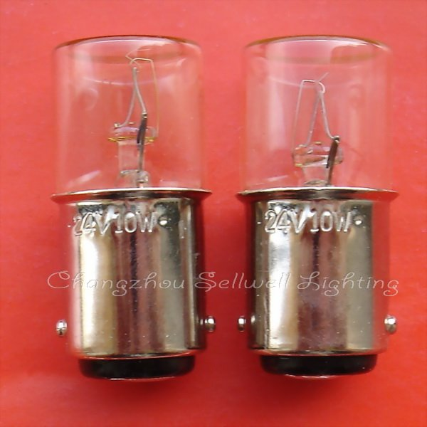 New!miniature Lamp Bulb 24v 10w Ba15d A655