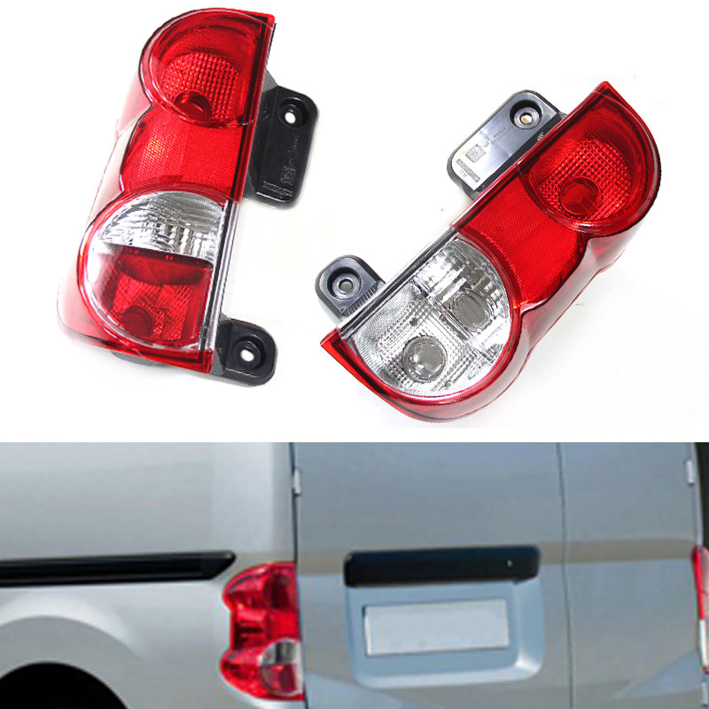 Rear Tail Lights for Nissan NV200 2008-2015 Inside/Outside Tail Stop Brake Lights Car Accessories Rear turn signal Fog lamp led rear tail lights for ford transit 2014 tail stop brake lights european version car accessories rear turn signal fog lamp